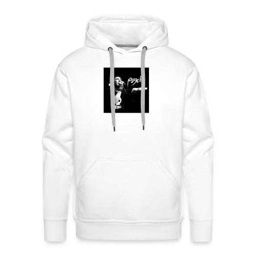 Psyche - Fan Button - Men's Premium Hoodie
