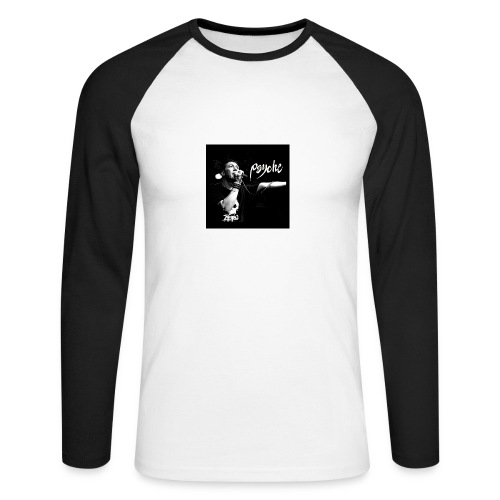 Psyche - Fan Button - Men's Long Sleeve Baseball T-Shirt