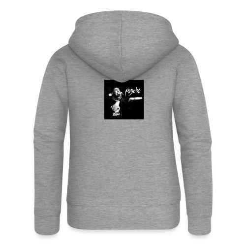 Psyche - Fan Button - Women's Premium Hooded Jacket