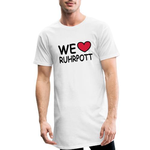 WE ♥ Ruhrpott - Kapuzenpulli - Männer Urban Longshirt