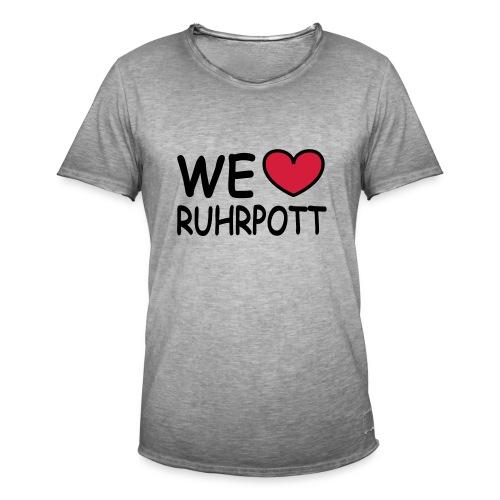 WE ♥ Ruhrpott - Kapuzenpulli - Männer Vintage T-Shirt