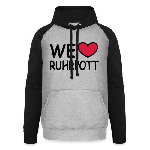 WE ♥ Ruhrpott - Kapuzenpulli - Unisex Baseball Hoodie