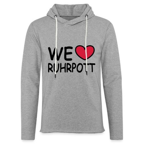 WE ♥ Ruhrpott - Kapuzenpulli - Leichtes Kapuzensweatshirt Unisex