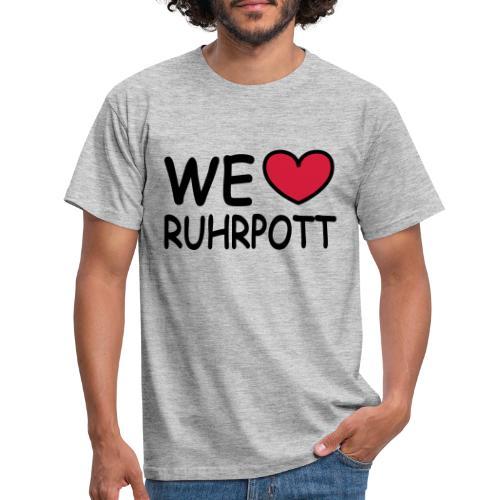 WE ♥ Ruhrpott - Kapuzenpulli - Männer T-Shirt