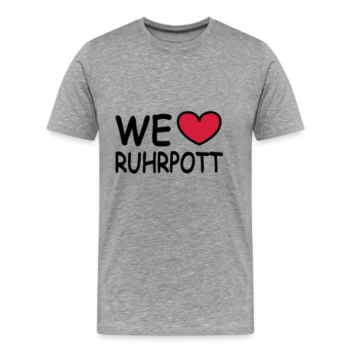 WE ♥ Ruhrpott - Kapuzenpulli - Männer Premium T-Shirt