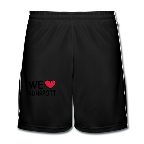 WE ♥ Ruhrpott - Kapuzenpulli - Männer Fußball-Shorts