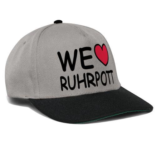 WE ♥ Ruhrpott - Kapuzenpulli - Snapback Cap
