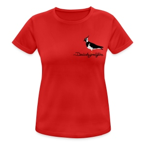 Kiebitz - Deichgräfin - Frauen T-Shirt atmungsaktiv