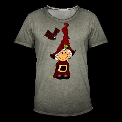 Kleene Strubbelhex (freche Farben) - Männer Vintage T-Shirt