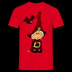 Kleene Strubbelhex (freche Farben) - Männer T-Shirt