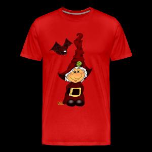 Kleene Strubbelhex (freche Farben) - Männer Premium T-Shirt