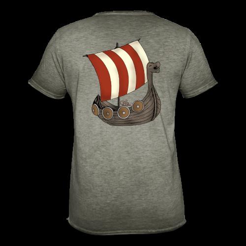 KinderShirt Schiff des lütten Wikingers Erik - Männer Vintage T-Shirt