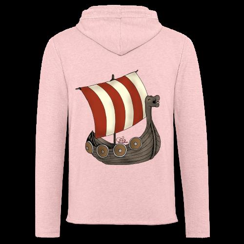KinderShirt Schiff des lütten Wikingers Erik - Leichtes Kapuzensweatshirt Unisex