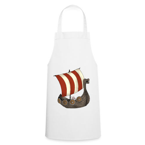 KinderShirt Schiff des lütten Wikingers Erik - Kochschürze