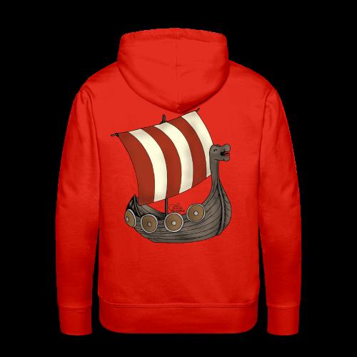 KinderShirt Schiff des lütten Wikingers Erik - Männer Premium Hoodie
