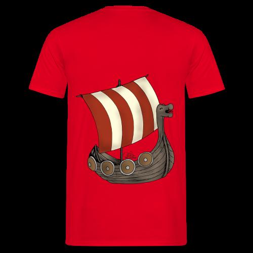 KinderShirt Schiff des lütten Wikingers Erik - Männer T-Shirt