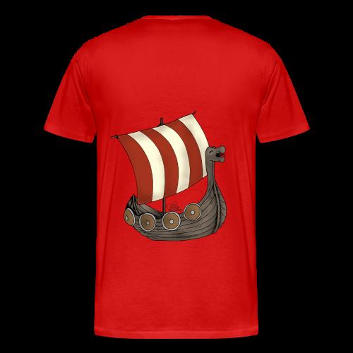 KinderShirt Schiff des lütten Wikingers Erik - Männer Premium T-Shirt