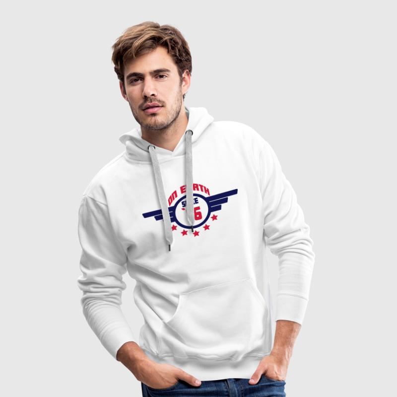 76_on_earth Sweaters - Mannen Premium hoodie