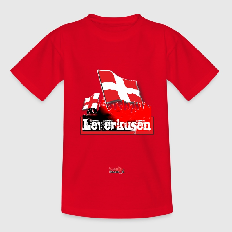 leverkusen Kinder T-Shirts - Teenager T-Shirt