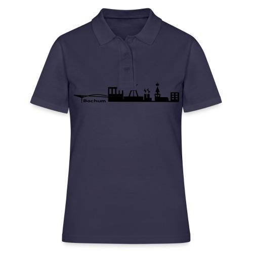 Skyline Bochum - Kapuzenpulli - Frauen Polo Shirt