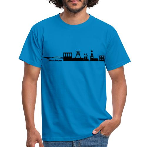 Skyline Bochum - Kapuzenpulli - Männer T-Shirt