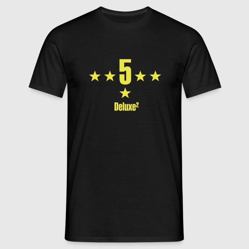5 sterne deluxe T-Shirts - Männer T-Shirt