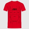 Meat - barbecue - meat varieties T-Shirts - Men's T-Shirt