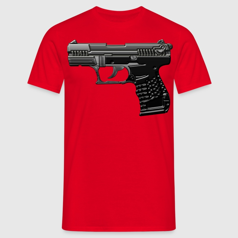 pistolet carabine Tee shirts - T-shirt Homme