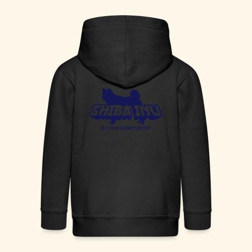 Shiba Inu ist kein Kampfsport - Kinder Premium Kapuzenjacke