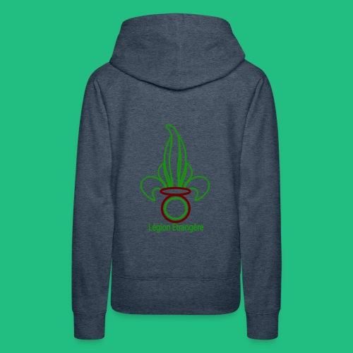 GRENADE LEGION PAYS - Sweat-shirt à capuche Premium pour femmes