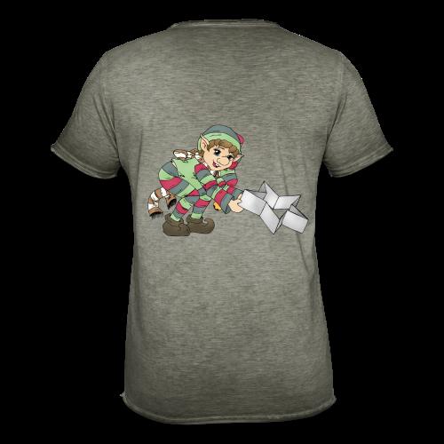 KinderShirt Weihnachtswichtel - Männer Vintage T-Shirt