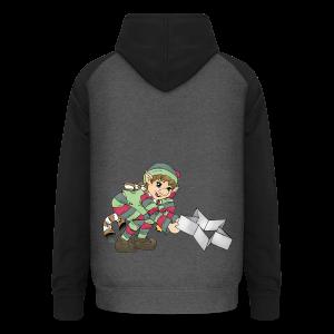 KinderShirt Weihnachtswichtel - Unisex Baseball Hoodie