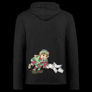 KinderShirt Weihnachtswichtel - Leichtes Kapuzensweatshirt Unisex