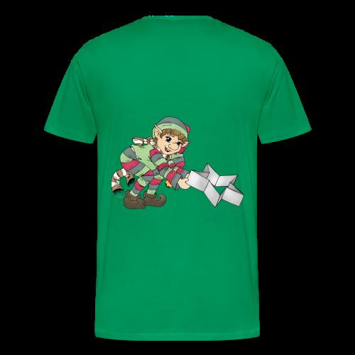KinderShirt Weihnachtswichtel - Männer Premium T-Shirt