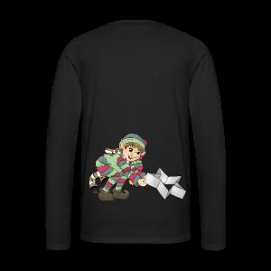 KinderShirt Weihnachtswichtel - Männer Premium Langarmshirt