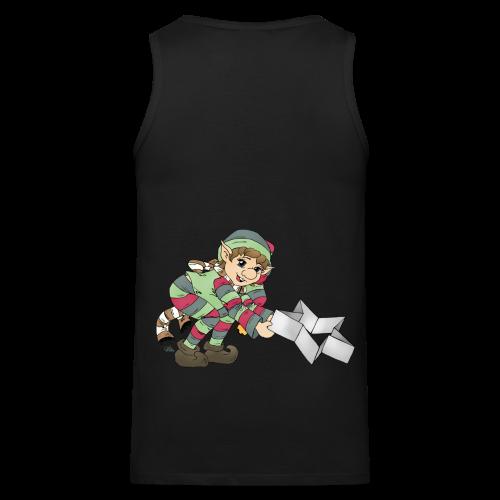 KinderShirt Weihnachtswichtel - Männer Premium Tank Top