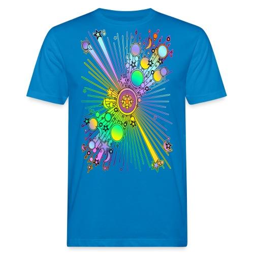 NEW UNIVERSE | Kindershirt - Männer Bio-T-Shirt