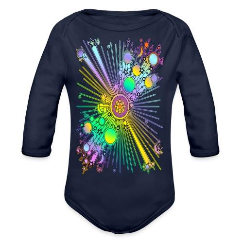 NEW UNIVERSE | Kindershirt - Baby Bio-Langarm-Body