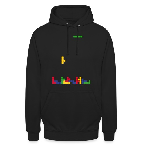 T-shirt Tetris - Sweat-shirt à capuche unisexe