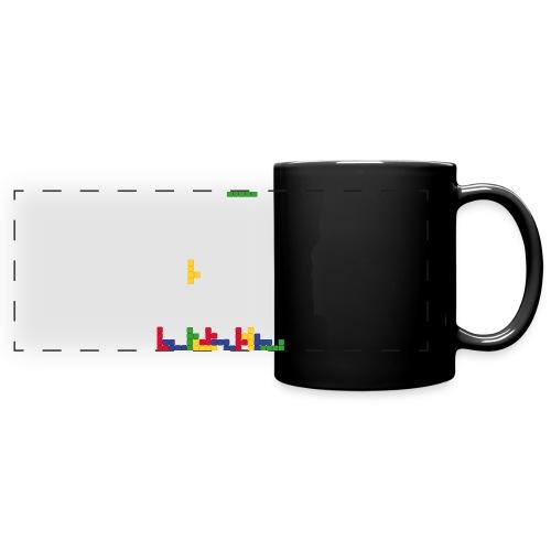 T-shirt Tetris - Mug panoramique uni