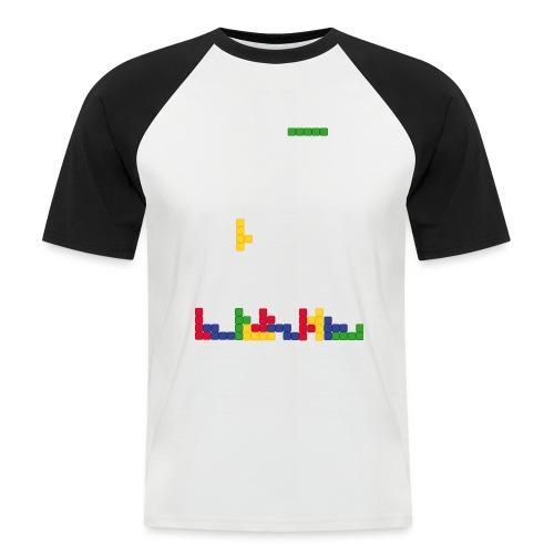 T-shirt Tetris - T-shirt baseball manches courtes Homme