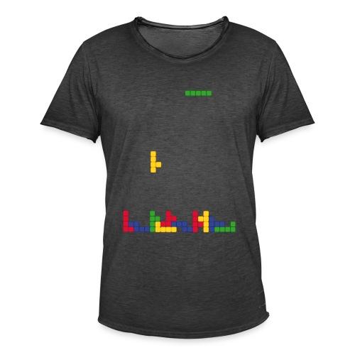 T-shirt Tetris - T-shirt vintage Homme
