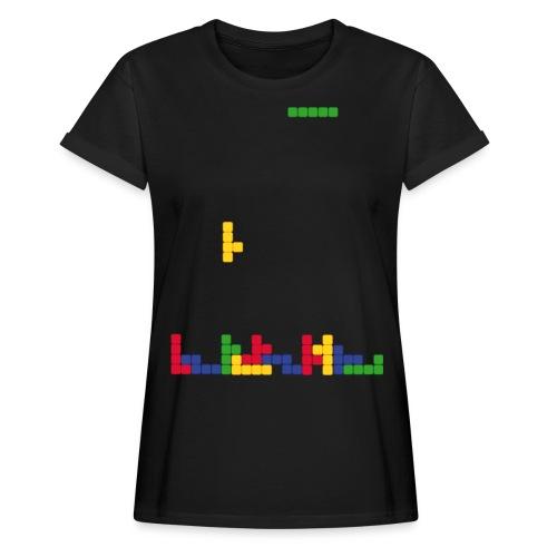 T-shirt Tetris - T-shirt oversize Femme