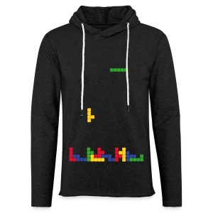 T-shirt Tetris - Sweat-shirt à capuche léger unisexe