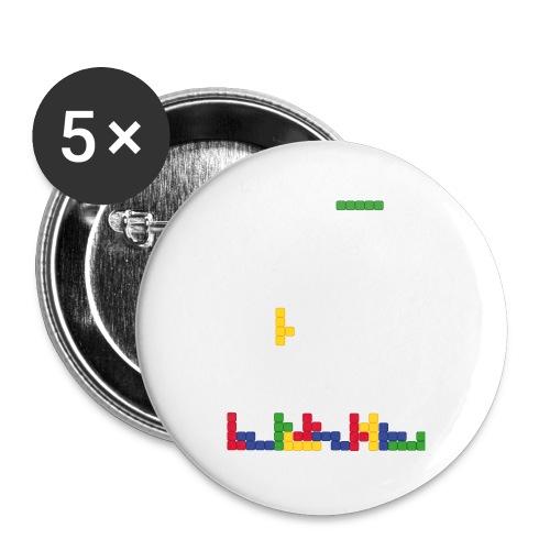 T-shirt Tetris - Badge petit 25 mm