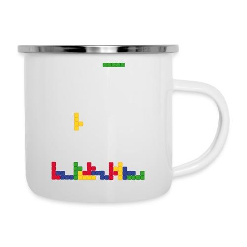 T-shirt Tetris - Tasse émaillée