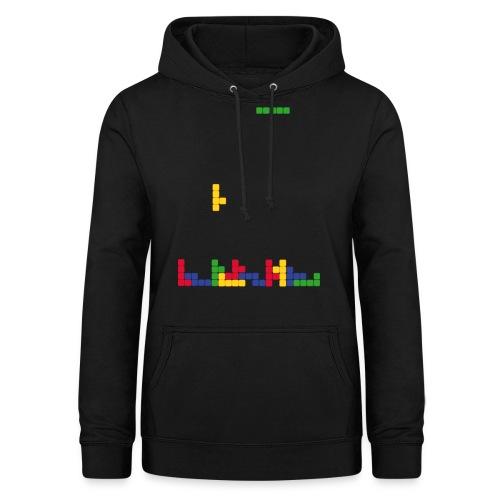 T-shirt Tetris - Sweat à capuche Femme