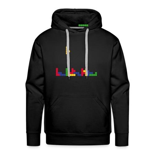 T-shirt Tetris - Sweat-shirt à capuche Premium pour hommes