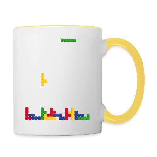 T-shirt Tetris - Mug contrasté