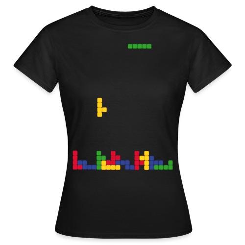 T-shirt Tetris - T-shirt Femme